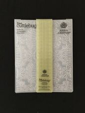 Cricut Cuttlebug Embossing Folder by Anna Griffin, *Amelie Lace*, 4.5 x 5.5
