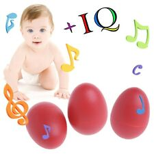 1Pc Percussion Musical Egg Maracas Shakers Children Kids Toy Fun Gift
