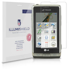 iLLumiShield Phone Screen Protector w Anti-Bubble/Print 3x for LG Dare VX9700
