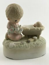 Crown Him Lord Of All * Precious Moments Figurine & Music Box
