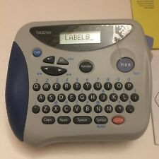 Brother P-touch Label Maker Pt-1100ql Scratch On The Front