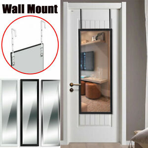 Full Length Wall Mount Mirrors Long Hanging Dressing Mirror Tall for Salon Door