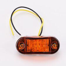 Car Truck Trailer LED Side Marker Blinker Light Bulb Amber 2pcs