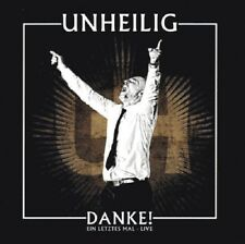 UNHEILIG Danke! Ein Letztes Mal - Live - 2CD (Touredition) Limited