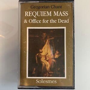 Gregorian Chant Requiem Mass & Office for the Dead (Cassette)
