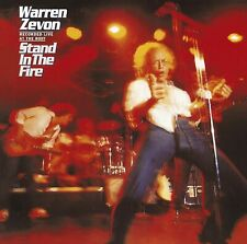 Warren Zevon - Stand in the Fire (CD 2007) *REMASTER with 4 Bonus Tracks*