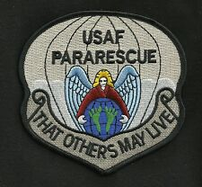 AIR FORCE PJ'S PARARESCUE JUMPER THAT OTHER MAY LIVE HOOK V MILITARY PATCH