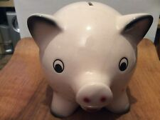 A very rare large Goebel ceramic piggy bank with a cute face from 1965