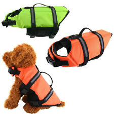 Dog Safety Life Jacket Buoyancy Pet Aid Swimming Boating Reflective Vest Suit