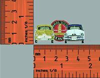 Fj & FX Holden, Beige & Blue / White  All metal hat pin, lapel pin ,Badge