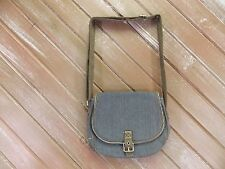 Thirty-One Free to Be Crossbody Purse in Railroad Denim Saddle Bag