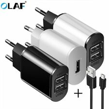 Universal 5V 2A EU Plug USB Fast Charger Wall Travel Power Adapter For iphone
