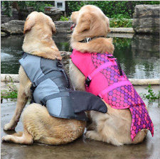 Dog Puppy Mermaid Life Jacket Pet Saver Life Vest for Swimming Surfing Preserver