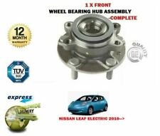 FOR NISSAN LEAF ELECTRIC ZE0 2010-> NEW 1X FRONT WHEEL BEARING KIT