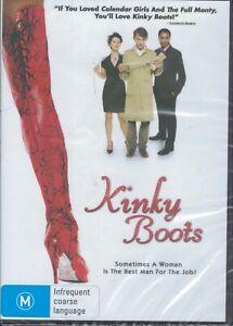 KINKY BOOTS DVD Joel Edgerton Region 4 NEW & SEALED Free Post