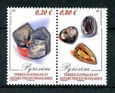 FSAT Fr South Antarctic Terr 2017 MNH Pyroxene Minerals 2v Se-tenant Set Stamps
