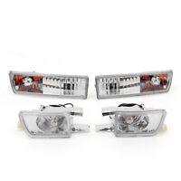 Avant Bumper Lumière&Lamp signal Feux Antibrouillard Pour VW Golf Jetta MK3 AF