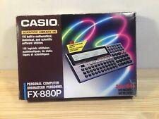 - CASIO FX-880P Calculatrice Scientifique - complet avec boite et notice