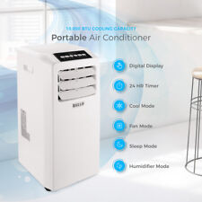 Air Conditioner Cooling Fan 10000 BTU Portable Dehumidifier A/C Window White