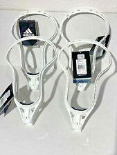 Lot of 4 Adidas Eqt Enrayge Unstrung Adult Attack Lacrosse Head Sz 10 Ai7192 Men