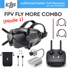 DJI Digital FPV Goggles, Air unit and Remote Controller- Fly More Combo (Mode 1)