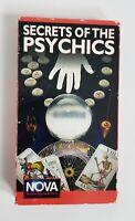 Secrets Of The Psychics VHS 1993 Nova James Randi aka The Amazing Randi Cult HTF