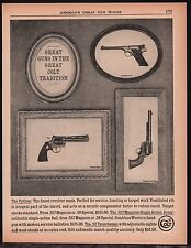 1961 COLT Python, 357 Single-Action Army SAA Revolver & Targetsman .22 Pistol AD