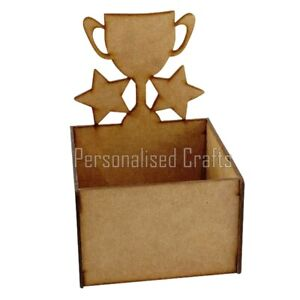 Birthday Gift Hamper Trophy Treat Hamper Crate Holds Chocolate & Sweets