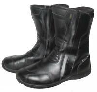 """"""" KOCHMANN """" Motorradstiefel / Biker- Stiefel / Boots in schwarz ca. Gr. 42,5"""