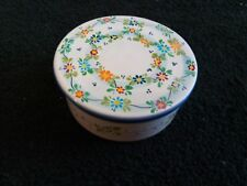 Vintage Italian Hand Painted DIP A MANO St Chironi Trinket Box Italy WOW!!