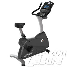 Life Fitness C1 Upright Cycle with Track Console | Delivery or Collection