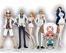 ONE PIECE FILM GOLD Luffy Roronoa Zoro Tony Sanji Decal Figure Desk Stand Be