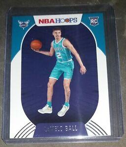 Lamelo Ball 2020-21 NBA Hoops Rookie Card RC #223 Charlotte Hornets