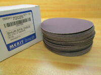 Merit Abrasives 08834172025 Shur-Stik Discs 240 Grit (Pack of 50)