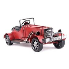 Metal Car Vintage Runabout Model Retro Automobile Figurines Prop Home Decoration