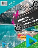 "HD (1080) Royalty Free Stock Footage Videos ""Nature Vol.2"" on DvD-Rom"
