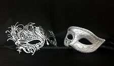 Black Sexy Swan Masquerade mask pair for couple Xmas Costume Dress up Party Mask