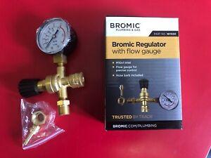 BROMIC  NITROGEN ARGO CO2 GAS CYLINDER REGULATOR