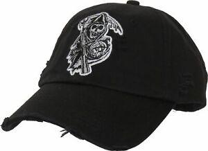 Sons of Anarchy Détruit Noir Casquette