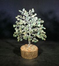 JADE STEP STYLE GEMSTONE CHIP TREE WITH 300 STONES CRYSTAL TREE OF LIFE
