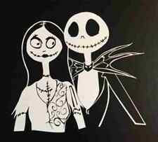 Sally & Jack Skellington Nightmare Before Christmas Car Tablet Vinyl Decal