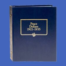 Whitman US Peace Dollar Coin Album 1921 - 1935 #9130