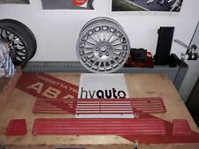 Satz Gitter Motorhaube Set Air Intake Hood center Lancia Delta Integrale Evo