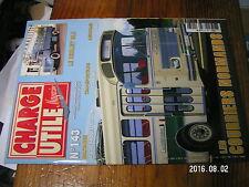 1µ? revue Charge Uile n°143 Berliet GLR Scoopmobile Chevrolet 4X4 Cirque AMAR 80