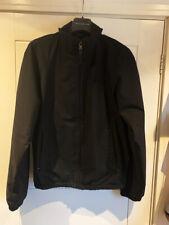 "Men's Prada Sport jacket Black Gore tex windstopper fabric Size 40"" chest Medium"