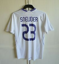 REAL MADRID #23 SNEIJDER 2007/2008 HOME SHIRT JERSEY ADIDAS SIZE (YL) YOUTH BOYS