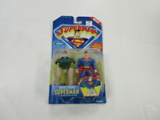 1996 KENNER SUPERMAN QUICK CHANGE SUPERMAN FIGURE SEALED