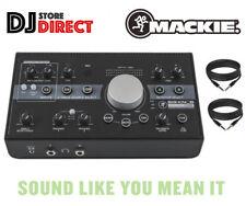 MACKIE BIG KNOB STUDIO Monitor Speaker Controller USB Interface + FREE TRS LEADS