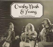 Crosby, Nash & Young - San Francisco Broadcast ( Live ) CD NEW / SEALED