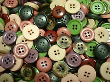 COLLECTION QUALITY*5O*MIXED LOT OF COLORFUL*NEW BUTTONS 3/4IN